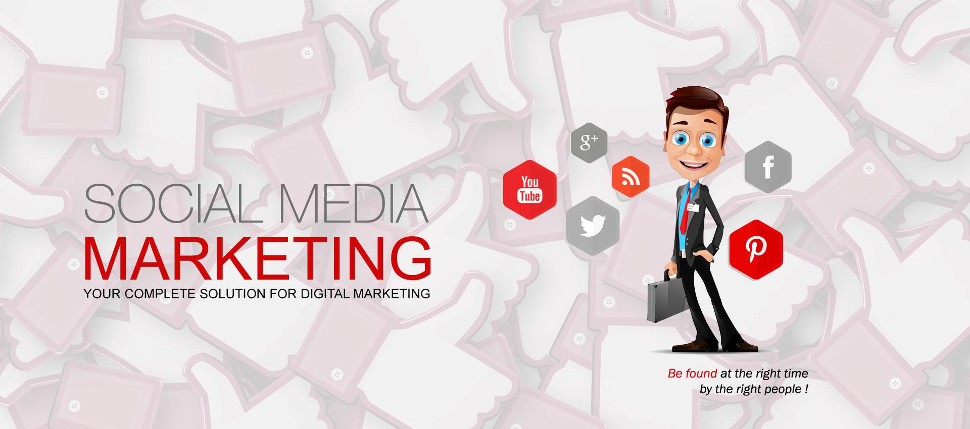 Social media marketing banner copy