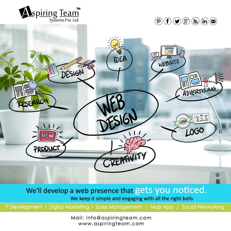Aspiring Team - WEB DESIGNING